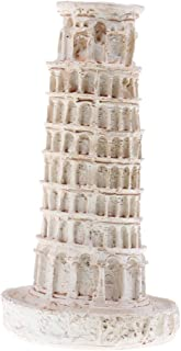 Kesoto DIY Kit Resina Torre De Pisa Italia Construcción Escena Modelo para Diorama Paisaje