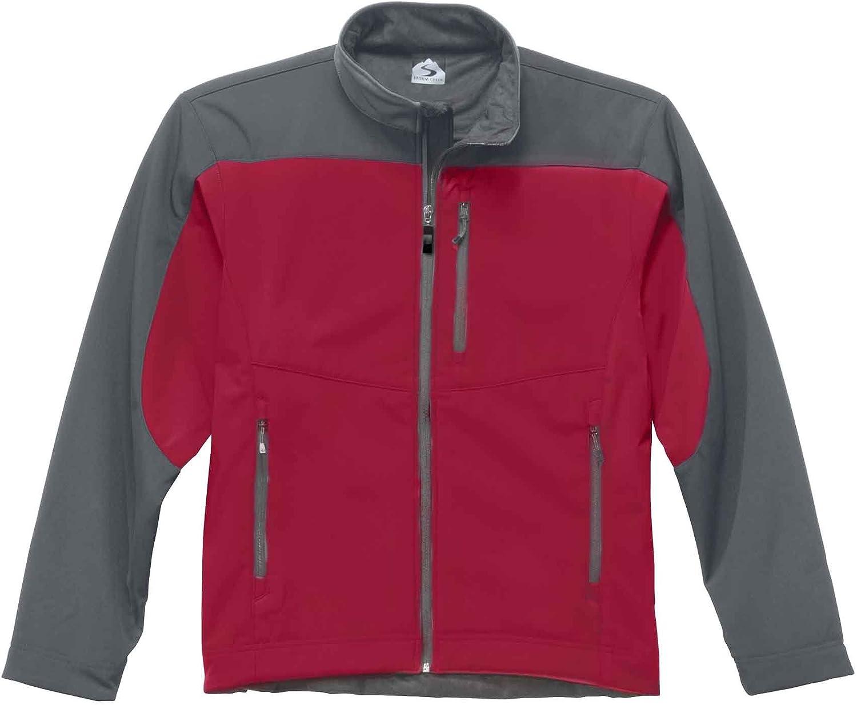 Storm Creek Men's Waterproof/Breathable Soft-Shell Fleece Jacket