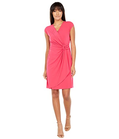 Tommy Bahama Carmela Short Sleeve Faux Wrap Dress