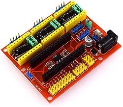 MagiDeal CNC Shield Board A4988 Stepper Motor Driver con UNO R3 para Arduino V3 Grabador