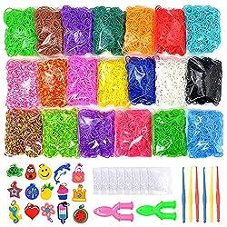 Image of 9200+ Rainbow Rubber Bands...: Bestviewsreviews