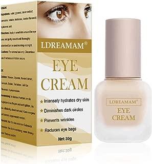 Eye Cream,Eye Gel,Under Eye Cream,Anti-Aging Eye Cream - Minimizes Fine Lines, Reduces Puffiness & Dark Circles, Anti Aging Skin Nourishes Skin & Fights Wrinkles Night and Day Moisturizing Cream