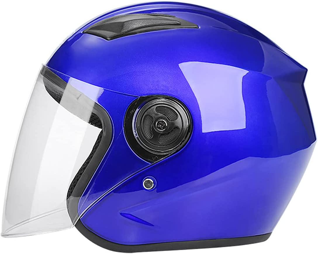 JXSMBP Adult Motorcycle Helmet Super popular specialty store Face Scooter w Open Ranking TOP16