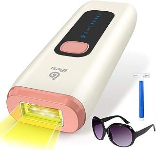 iBesi Depiladora de Luz Pulsada IPL, 999,999 Flashes Depilación Permanente con para Mujer y Hombre, Depiladora Laser Profe...