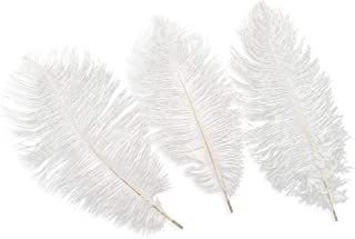 White OSTRICH Feathers Wholesale Bulk SPECIAL SALE 12 to16 long DELUXE Tail Feather Plumes White Qty 100 The White Swan Collection by ExoticFeathersLA