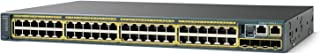 Cisco WS-C2960S-48TD-L Catalyst 2960 48 Port Switch (Certified Refurbished)