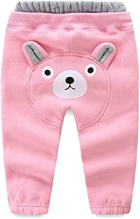 LittleSpring Little Boys' Long Pants Cartoon