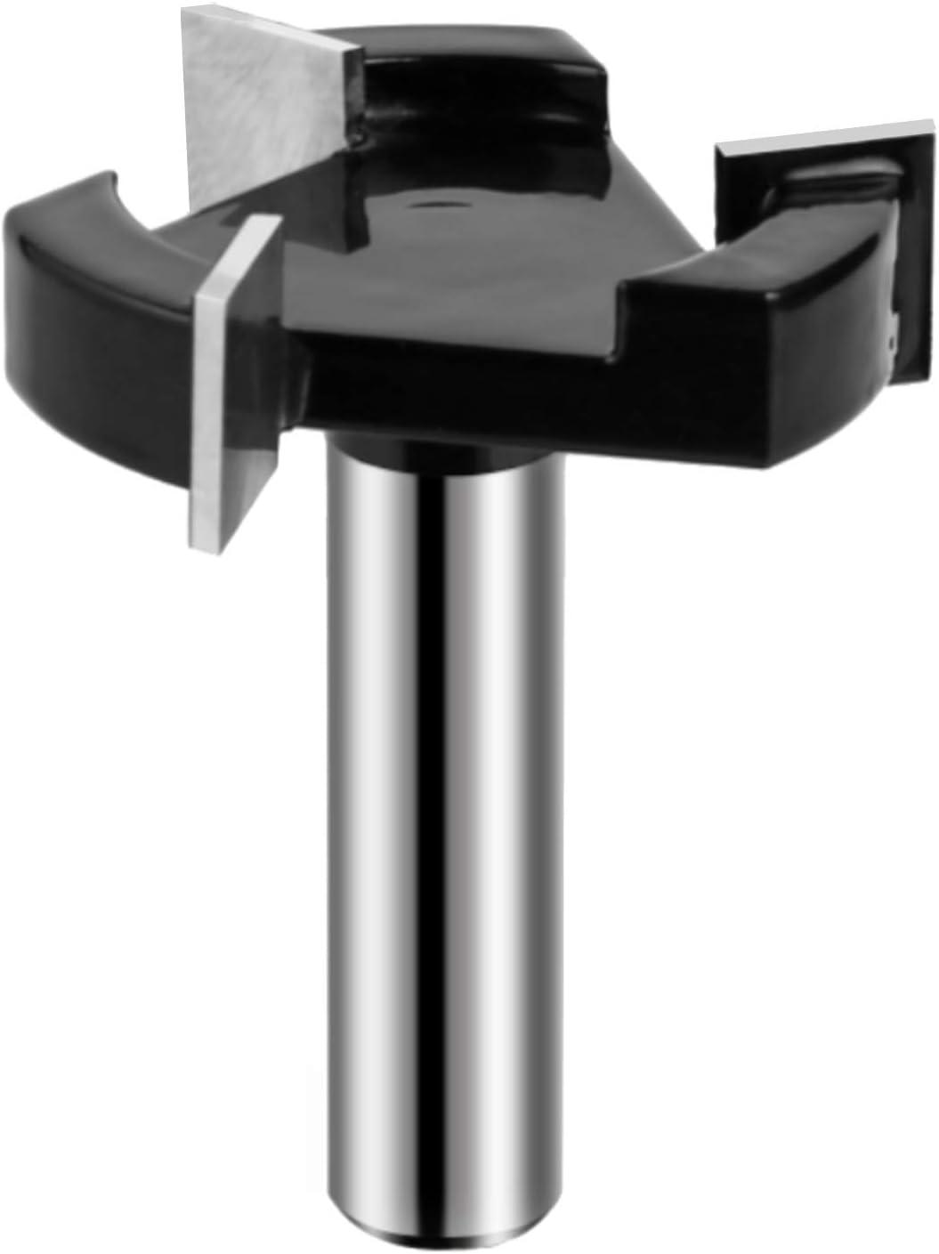 WSOOX 1//2 Schaft 3 Fl/öte Pr/ämie CNC Spoilboard Oberfl/äche Oberfr/äser Fr/äser Flachfr/äser Fr/äser Hobelwerkzeug