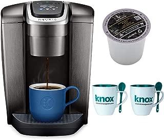 Keurig K-Elite Single Serve K-Cup Pod Programmable Coffee Maker Includes 3 Van Houtte K-Cups and 2 Mugs Bundle