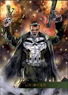 2019 Flair Marvel NonSport #15 Punisher Official Entertainment Trading Card From Upper Deck