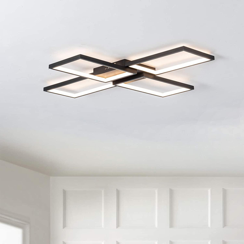 Modern LED Spring new 5% OFF work Ceiling Light Fixture Mount Rh 3500lm Flush 50W
