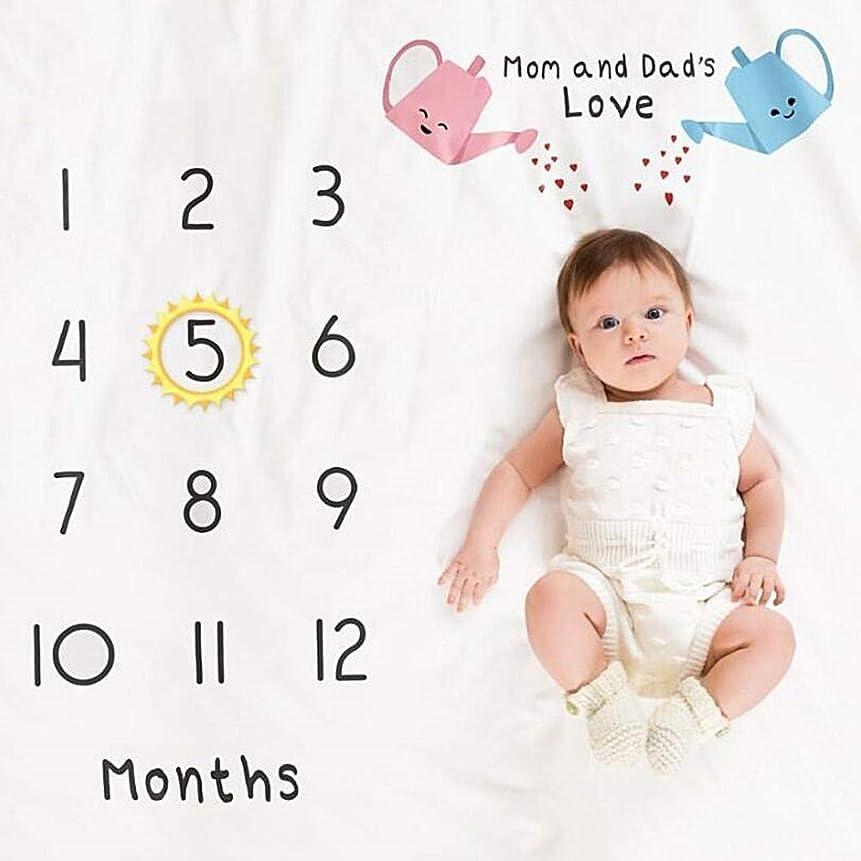 チップ信頼性神TAIPPAN 写真ブランケット 新生児写真撮影ブランケット 写真布 写真小道具 愛らしいラグソフト 出産祝い 誕生日プレゼント かわいい赤ちゃん ベビープレイマット