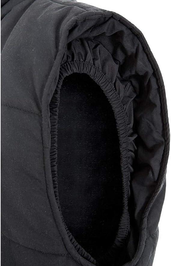 VELILLA 205902 0//12 L Gilet rembourr/é bicolore multipoches Noir Taille L