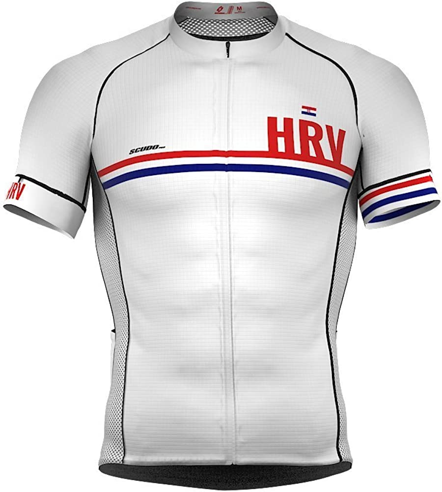 Croatia Code Short Sleeve Cycling Jersey PRO for Men Max 84% Max 50% OFF OFF