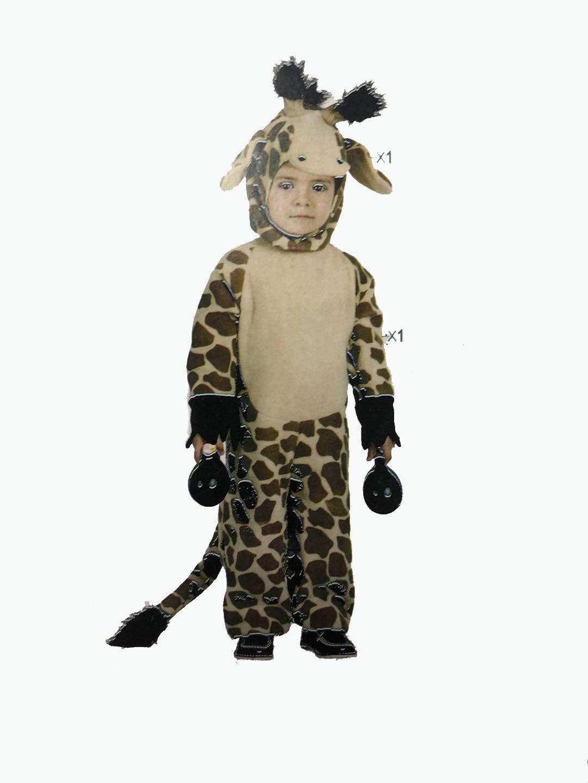Cisne 2013, S.L. Disfraz De Jirafa para niños 5-6 Años, Mono con ...