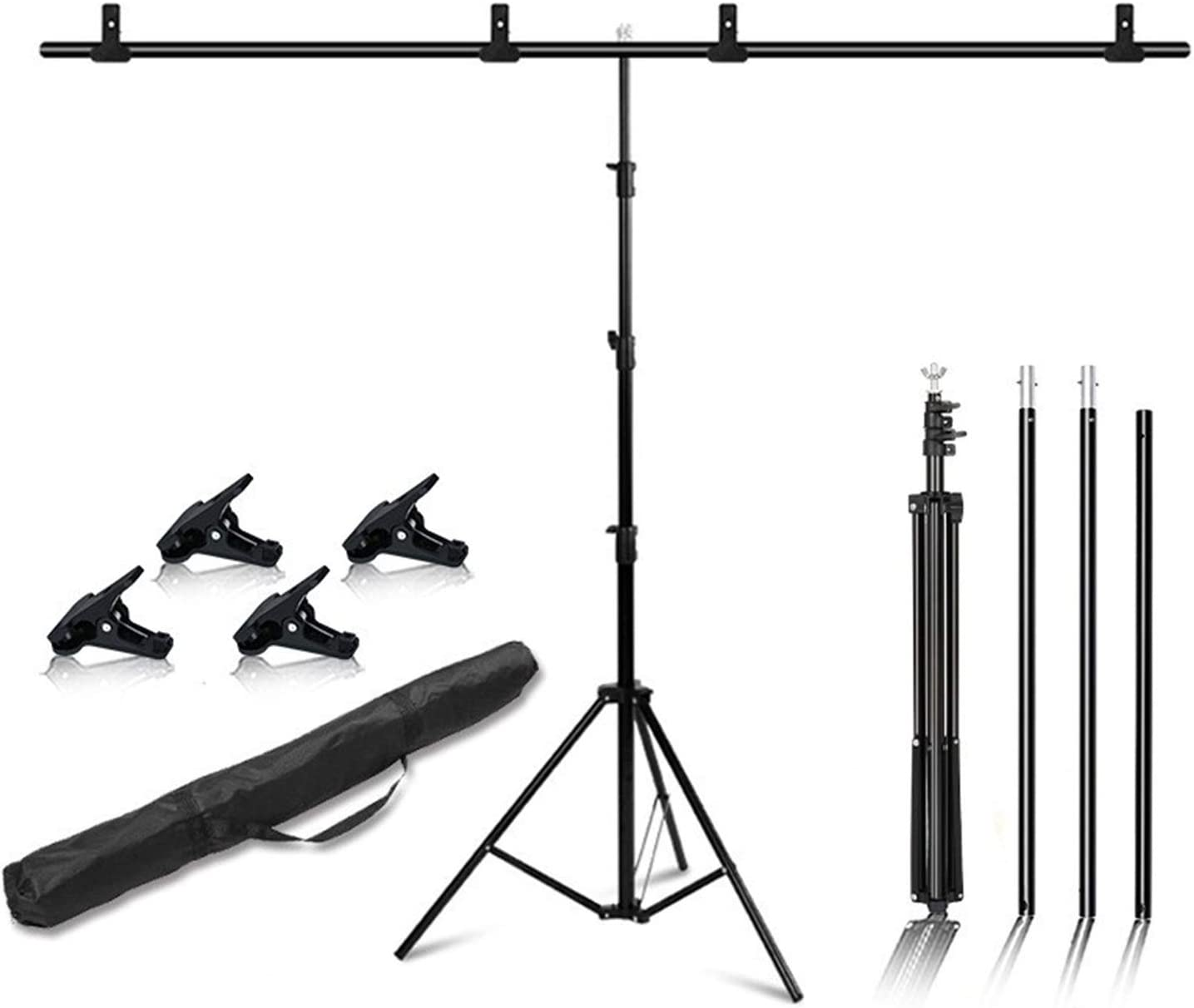 Zhice Photography T-Shape Background Omaha Mall Frame Backdrop Stands Factory outlet Photo