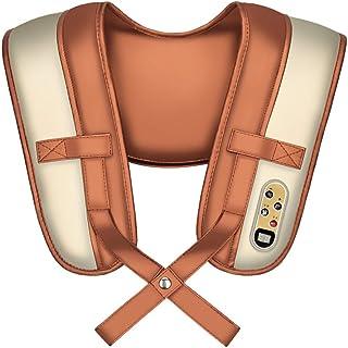 Health car Chal del Masaje, Golpe Multifuncional del Hogar, Massager Rojo Eléctrico del Cuello