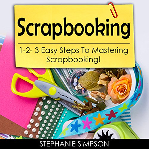 Scrapbooking audiobook cover art