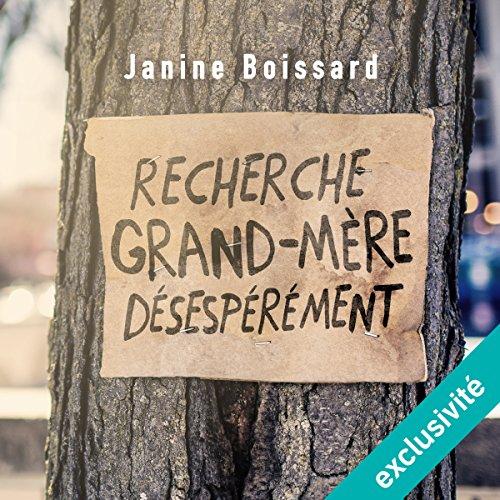 Recherche grand-mère désespérément audiobook cover art