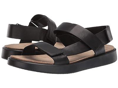 ECCO Corksphere Sandal (Black) Men