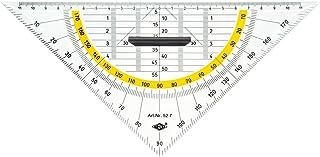WEDO Equerre géométrique avec Poignée amovible hypoténuse 25 cm