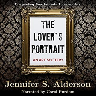 The Lover's Portrait: An Art Mystery audiobook cover art