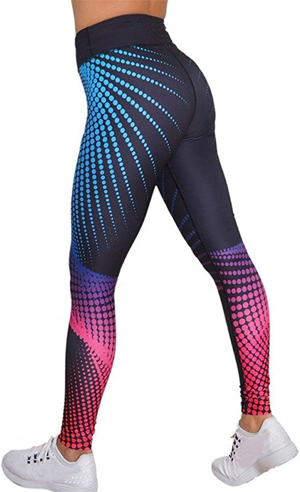 FUNEY High Waist Yoga Pants for Women,Tummy Control Butt Lift Tights Totally Shaping Pull-on Skinny Workout Leggings