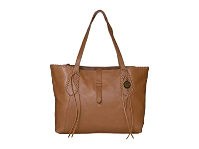 The Sak Heritage Leather Tote (Tobacco) Tote Handbags