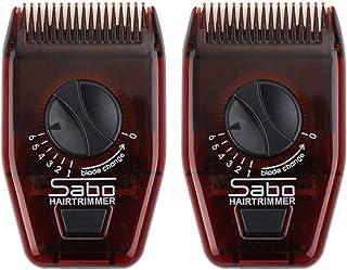 Beaupretty 2Pcs Rasoio per Capelli Manuale Mini Pettine Regolabile Regolabile Pettine Rasoio da Barba per Uomo Donna (Ross...