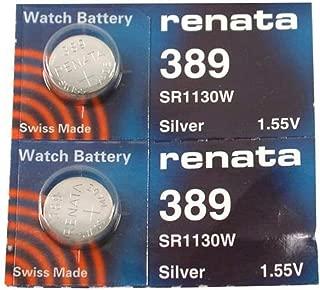 #389 Renata Watch Batteries 2Pcs