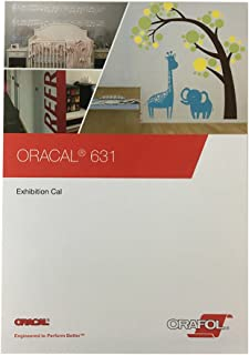 ORACAL 631 Color Chart Guide Matte Indoor Vinyl Sample Booklet Oracle Oracl