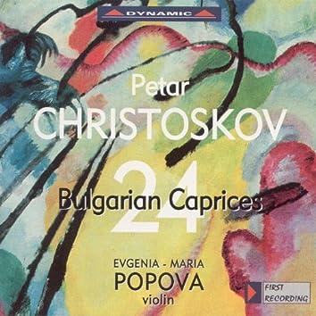 Christoskov: 24 Capriccios