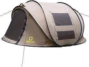 OT QOMOTOP Pop Up Tent, 4 Person 10-Second Instant Tent,...