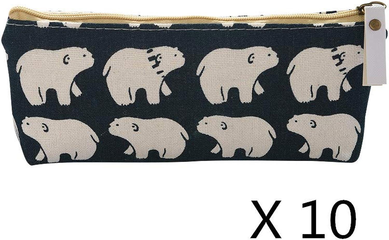 10x Universal Pencil Case Style A B07MZW3SYB | | | Erste Qualität  3ffb85