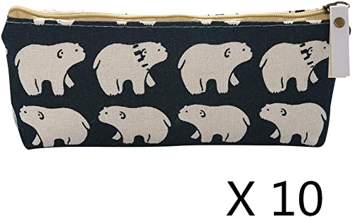 10x Universal Pencil Case Style A