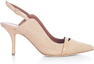 MALONE SOULIERS Luxury Fashion Womens MARION70OATMEAL Pink Pumps | Spring Summer 20