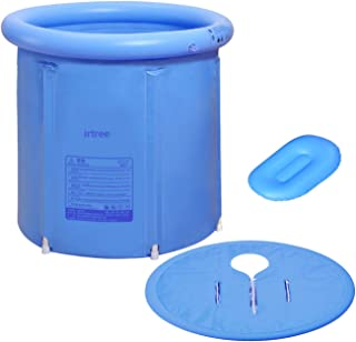 Inflatable Portable Plastic Bathtub,PVC Bath Tub Portable Soaking Tub Inflatable Spa For Adult Bathroom With Air Pump Large