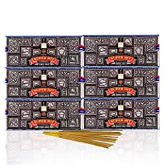 Another exotic incense from the makers of the original Satya Sai Baba Nag Champa incense - SUPERHIT incense. This incense follows the same lineage as the world famous Nag Champa incense. It is a fragrant blend of rich Indian Spices and exotic floral ...