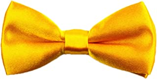 COODIO Adjustable Bowknot for Kids Children Solid Color Toddler Boys Bow Tie Pre Tied Bowtie for Fashion Jewelry