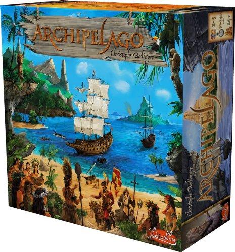 Unbekannt Ludically 494011 - Archipelago Strategiespiele