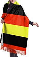 German Flag Germany Womens Scarf Large Soft Silky Pashmina Cashmere Shawl Wrap