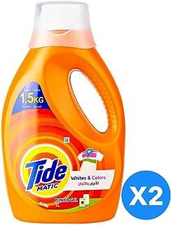 Tide Automatic Whites & Colors Power Gel Detergent - Pack of 2-Pieces (2 x 1L)