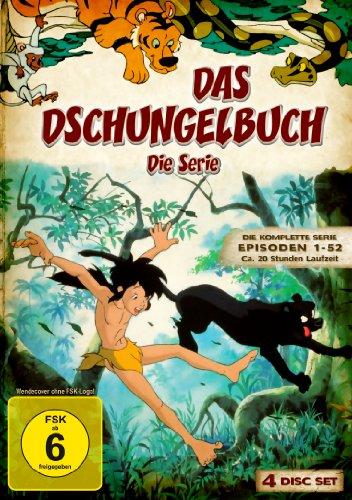Das Dschungelbuch: Die Serie - Die komplette Serie (Episoden 1-52) [4 DVDs]