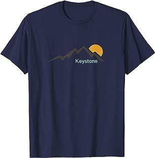 Mountain and Sunset - Keystone Colorado T-Shirt