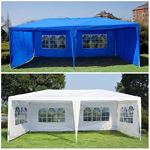 Generic O-8-O-4247-O w/ Side Gazebo Pavilion Pavilio Tent Patio tio Gaz Outdoor 10'x20' Canopy arty Te w/ Sidewalls COLOR:RANDOM nopy We Wedding Party NV_1008004247-TYQFUS32