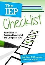 the iep checklist