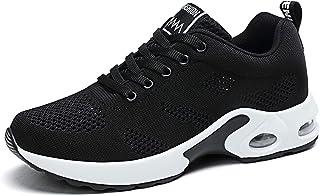 Zapatillas Deportivas de Mujer Gimnasio Zapatos Running Deportivos Fitness Correr Casual Ligero Comodos Respirable Negro M...