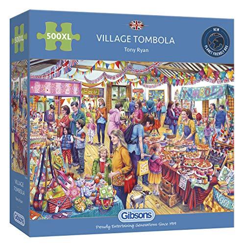 Gibsons Village Tombola (también Disponible como 1000 Piezas). (G3541)
