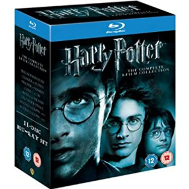 Harry Potter Complete 1 2 3 4 5 6 7 8 (7.1 7.2) Box Set Region Free NEW & SEALED [Blue-Ray]