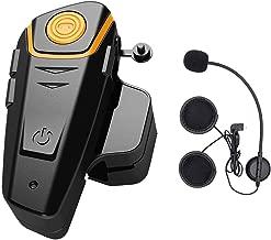 Motocicleta auriculares manos libres//intercomunicador para conductor y pasajero compartimento auriculares
